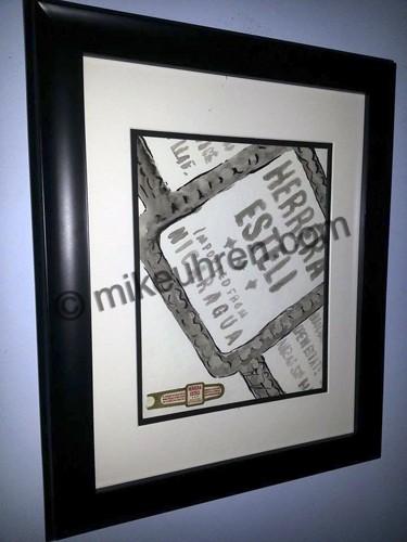 %name %title      Cigar art by Cigar Artist Mike Uhren