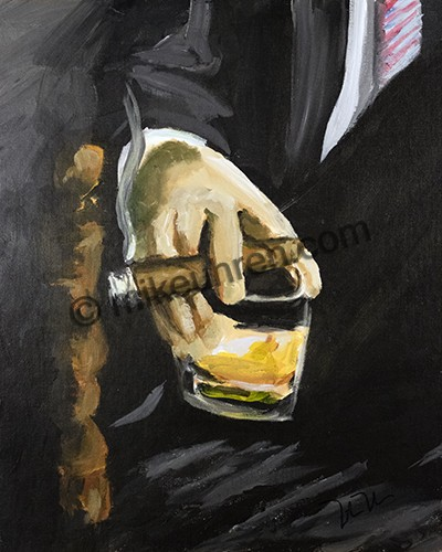 %name %title      Cigar art by Cigar Artist Mike Uhren
